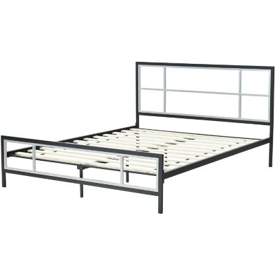 Hanover Lincoln Square Metal Platform Twin Bed Frame