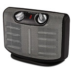 Holmes Twin Ceramic Heater with Manual Thermostat 19.95
