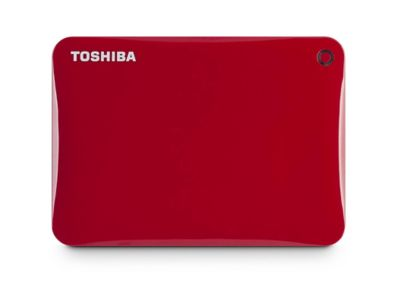 Toshiba 2TB Red Canvio Connect II External Hard Drive