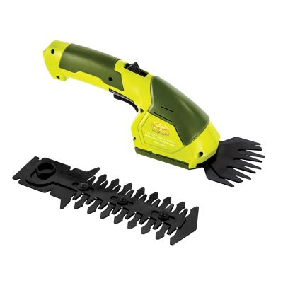 Sun Joe 7.2V Cordless 2-in-1 Grass Shear + Hedge Trimmer