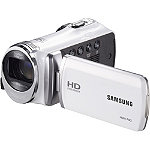 Samsung White Full HD Digital Video Camcorder with 130x Digital Zoom No price available.