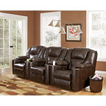 Home Solutions 3-Piece DuraBlend® Home Theater Power Recliner Package No price available.