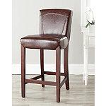 Safavieh Brown Ken Bar Chair