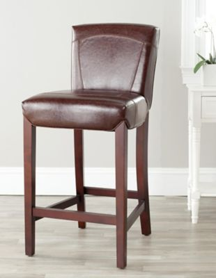 Safavieh Brown Ken Bar Chair