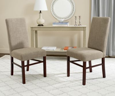 Safavieh Olive Beige Classic Dining Chairs Set of 2