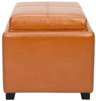 Safavieh Saddle Harrison Single Tray Ottoman