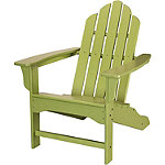 Hanover All-Weather Lime Contoured Adirondack Chair