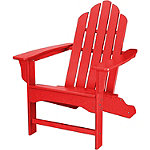 Hanover All-Weather Sunset Red  Contoured Adirondack Chair