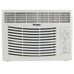 Haier 5,000 BTU Window Air Conditioner (9.7 EER) with Mechanical Controls 99.99