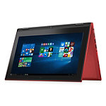 Dell 11.6' Touchscreen 2-in-1 Laptop with Intel® Pentium® Processor N3700, 4GB Memory, 128GB SSD, Red