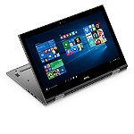 Dell 15.6' Touchscreen Laptop with Intel® Core i3-6100U Dual-Core Processor, 4GB Memory, 500GB Hard Drive, Gray