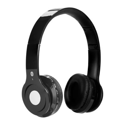 iLIVE Black Wireless Bluetooth Headphones