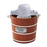 West Bend 4-Quart Wooden Bucket Ice Cream Maker