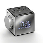 Sony Silver Projection Clock Radio