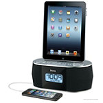 iHome® Dual Alarm Stereo FM Clock Radio for iPad/iPhone/iPod 59.99