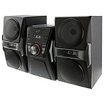 iLIVE Bluetooth CD Home Music System with FM Tuner and LED Lights