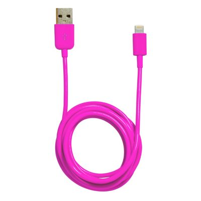 iHome Pink 5' Lightning Cable