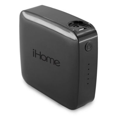 iHome Black 4400 mAh Powerbank