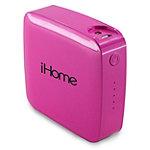 iHome Pink 4400 mAh Powerbank 24.99