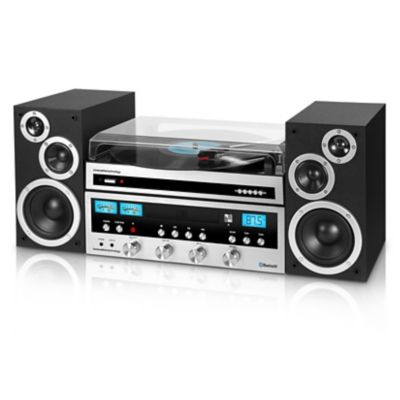 Innovative Technology Vintage Component Stereo with Bluetooth