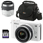 Nikon Camera with 2 Lenses, Bag and 8GB SD Card 579.88