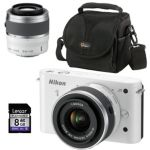 Nikon Camera with 2 Lenses, Bag and 8GB SD Card