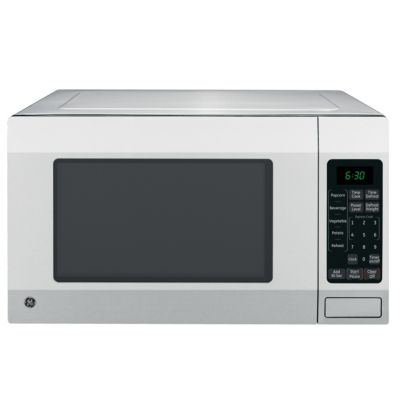 GE 1.6 Cu. Ft. 1,150-Watt Stainless Steel Countertop Microwave Oven