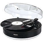 Jensen 3-Speed Bluetooth Stereo Turntable
