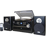 Jensen 3-Speed Turntable with CD, Cassette and AM/FM Stereo Radio