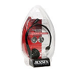 Jensen Hands-Free Telephone Headset with Headband Design and Boom Microphone 9.99