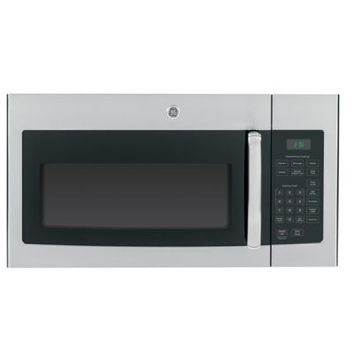 GE 1.6 Cu. Ft. 1000-Watt Stainless Steel Over-the-Range Microwave Oven