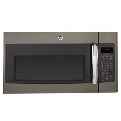 GE 1.7 Cu. Ft. 1000-Watt Slate Over-the-Range Microwave Oven