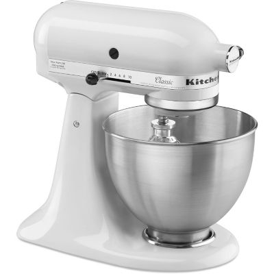 KitchenAid® 4.5-Quart White 10-Speed Tilt-Head Stand Mixer