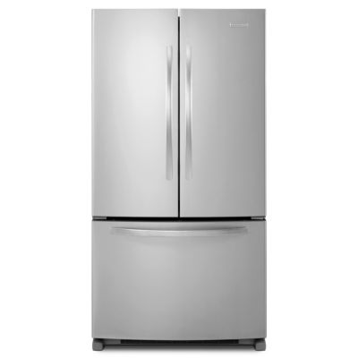 KitchenAid 24.8 Cu. Ft. Monochromatic Stainless Steel French Door Refrigerator