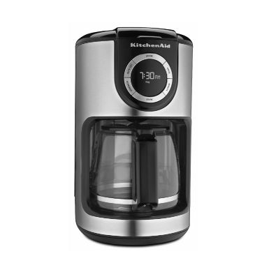 KitchenAid Onyx Black 12 Cup Glass Carafe Coffee Maker