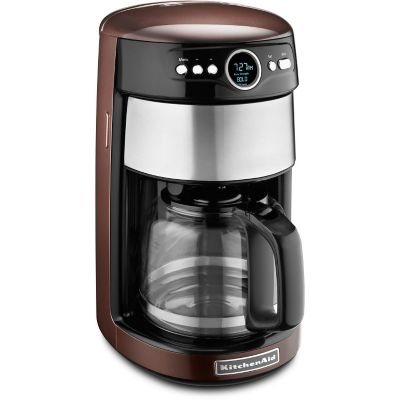 KitchenAid® 14-Cup Programmable Coffee Maker with Glass Carafe