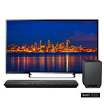 Sony 60' 3D LED Smart HDTV with Soundbar and Wireless Subwoofer 2498.00