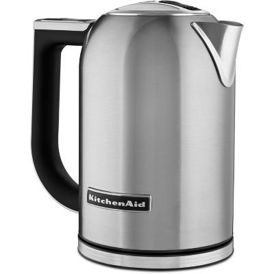 KitchenAid® 1.7-Liter Brushed Stainless Steel Electric Kettle