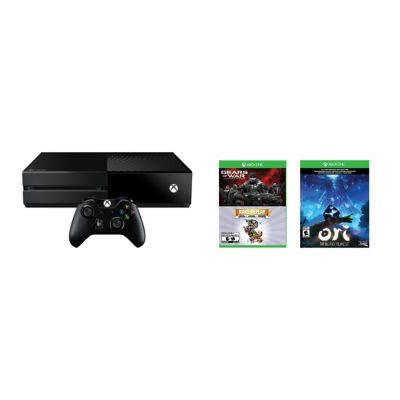 Microsoft Xbox One 1TB Gears of War: Ultimate Edition, Rare Replay, Bundle
