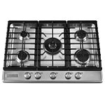 KitchenAid 30' Stainless Steel Gas Cooktop No price available.