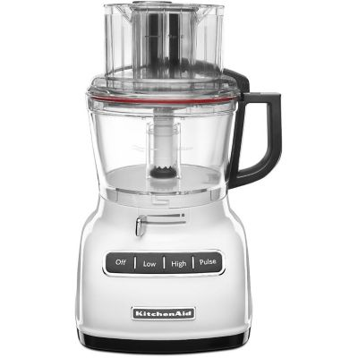 KitchenAid® White 9-Cup Food Processor