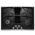 KitchenAid® 30' Stainless Steel 4-Burner Downdraft Gas Cooktop