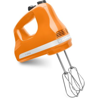 KitchenAid® Tangerine 5-Speed Hand Mixer