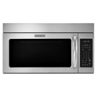 KitchenAid 2 Cu. Ft. 1,000-Watt Stainless Steel Over-the-Range Microwave