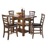 Home Solutions Counter Height Dining Set 599.00