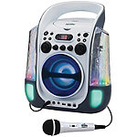 Karaoke Night CD+G Karaoke Machine with Dancing Water LED Light Show