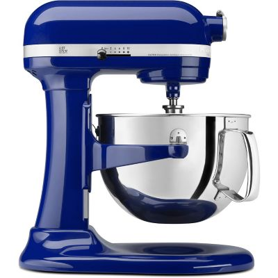 KitchenAid® 6-Quart Cobalt Blue Bowl-Lift Stand Mixer with Pouring Shield