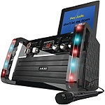 Akai CD+G Karaoke Player with iPad/iPod Cradle and Light Effect