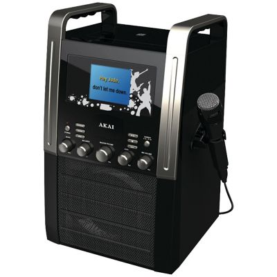 Akai CD+G Karaoke Player with 3.5