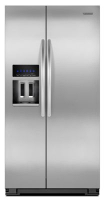 KitchenAid 23.6 Cu. Ft. Stainless Steel Counter-Depth Side-by-Side Refrigerator